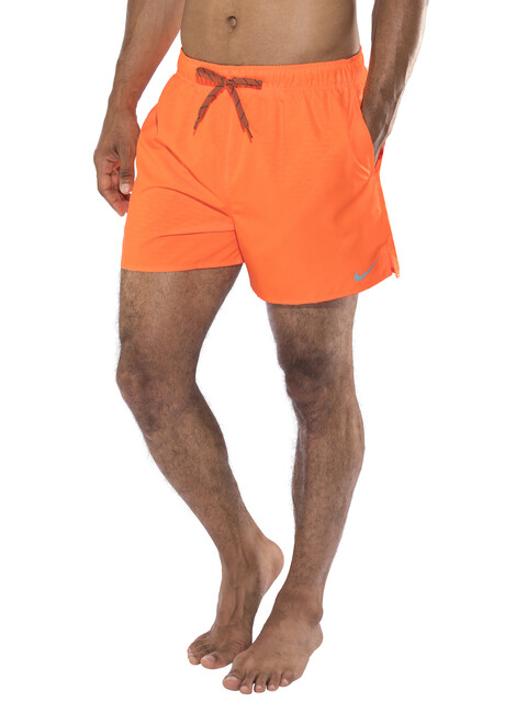 Nike Swim Core Emboss Volley - Bañadores Hombre - gris/naranja